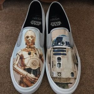 Star Wars x Sperry Slip Ons